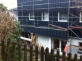 Fassadenverkleidung mit Prefa Farbaluminiumblechen