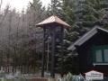 Turmdacheindeckung aus Kupferblech