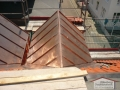 Bauprojekt auf Norderney - Stehfalzarbeiten aus Kupfer