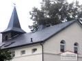 Neue Dacheindeckung aus Naturschiefer der Alten Dorfschule in Plettenberg-Pasel