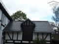 Dacheindeckung aus spanischem Naturschiefer in 25x25