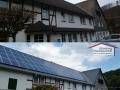 Asbestabriss, Neueindeckung, Montagehilfe für Photovoltaik-Anlage
