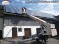 Solarreinigung - Auch per Arbeitsbühne möglich